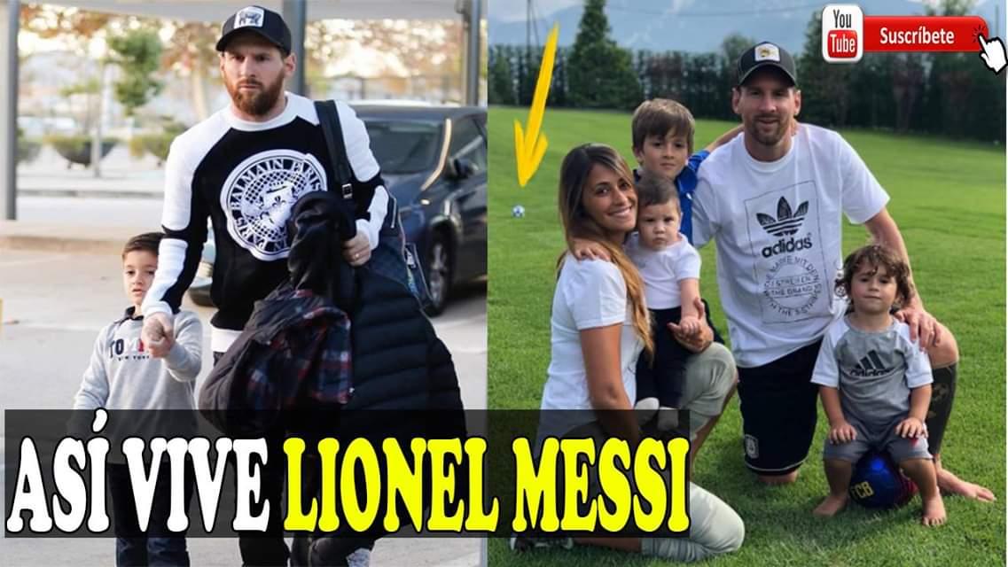 ASÍ VIVE MESSI, CONOCE A SUS TRES HIJOS, COMO ES SU ENORME MANSIÓN Y LO QUE HACE EN SU TIEMPO LIBRE #FútbolInternacional #Messi #leomessi #FCBarcelona #FutbolEnDIRECTV #FutbolTotalDIRECTV Video👉👉👉https://goo.gl/pbjPzQ