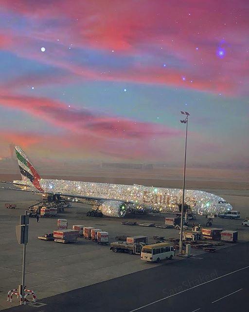 Real or fantasy? #CabinCrewDream #FlightAttendant #Emirates (Image created by Sara Shakeel)