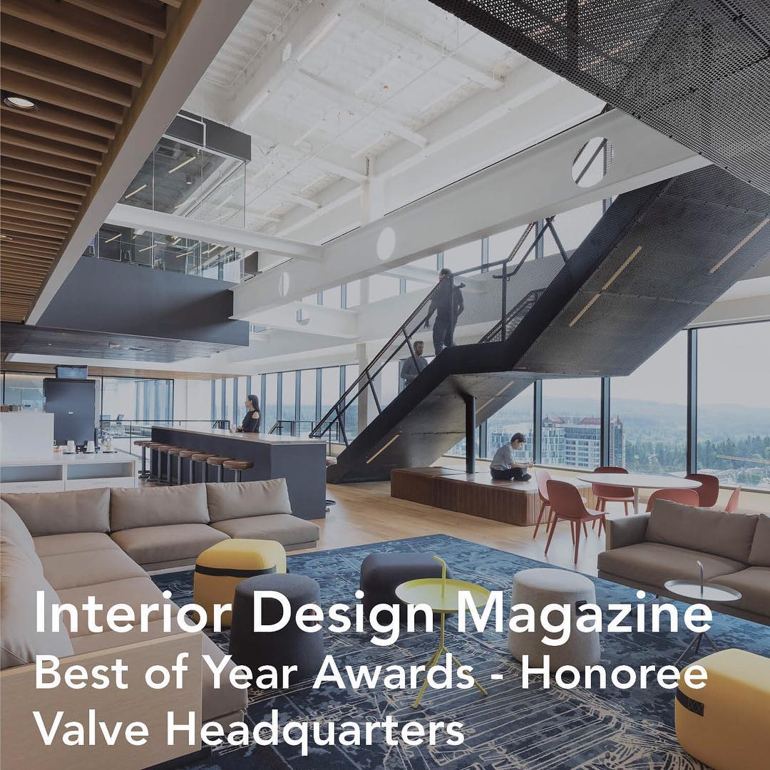 Valvetime On Twitter Valve Hq Is This Year S Honoree For Interior Design Mag S Best Of Year Awards Https T Co 5xt60lbmec