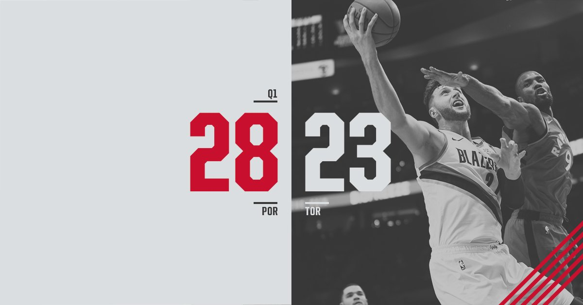 12 minutes of hoops in the books   #RipCity