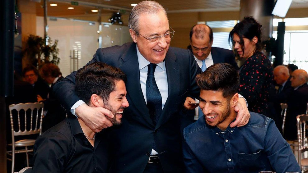 The #RealMadrid Christmas dinner took place on Friday.  And Perez called for unity.  As well as making one specific player request of Solari.  👀  🗣  https://buff.ly/2S8voMs