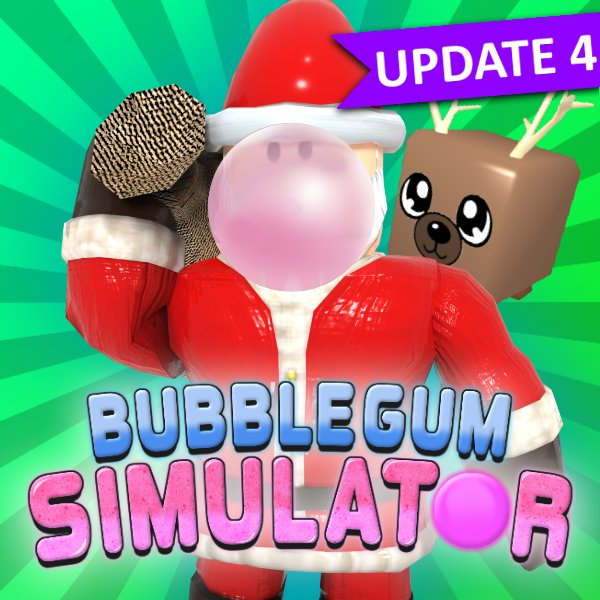 "🌲 New Christmas Update has dropped in Bubble Gum Simulator! Over 25 new pets, new world, new layers and so much more!  Use code ""CandyCanes"" for 100 free Candy Canes!  Join our Discord: http://discord.gg/rumble"