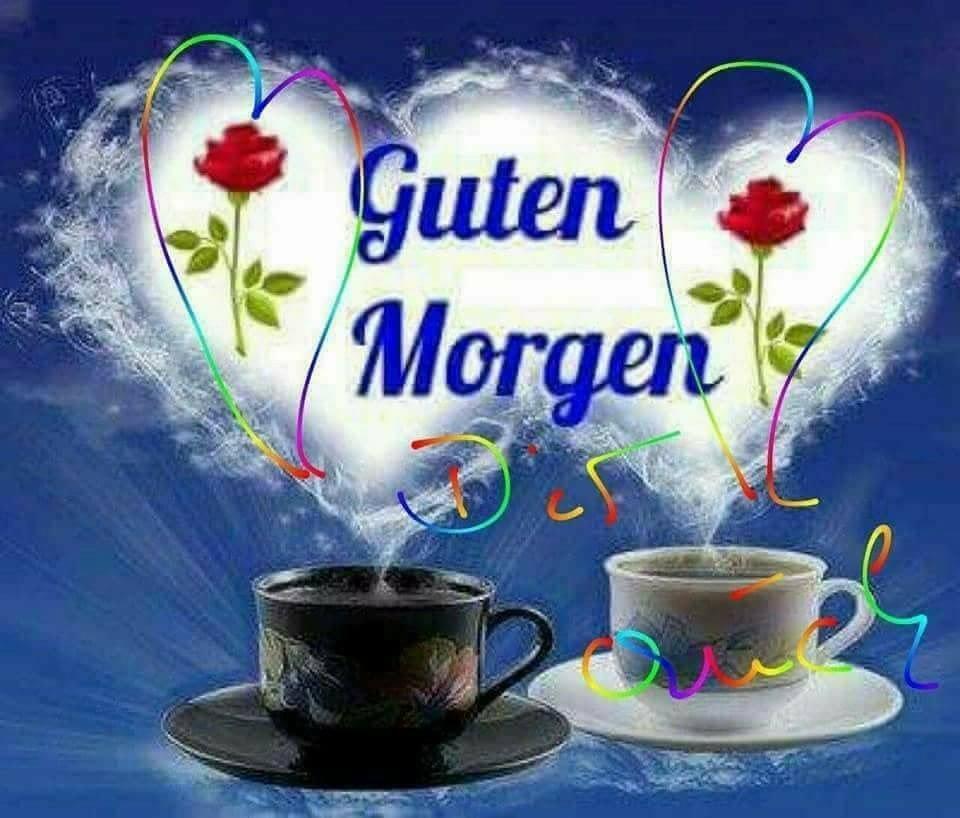 Открытка с добрым утром на немецком языке, картинки прикольные смешные