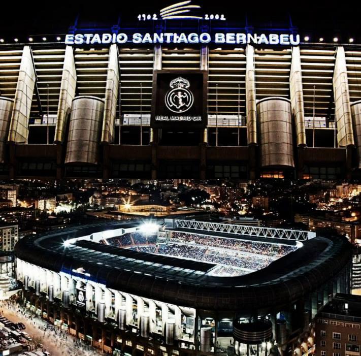 Final de Copa del Mundo, final de Eurocopa, finales de Copa de Europa y final de Copa Libertadores. Hoy cumple 71 años un estadio único en TODO el planeta. La casa del club más grande de la historia. EL MÁGICO SANTIAGO BERNABÉU.