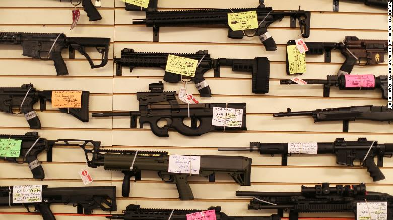 Gun deaths in America have reached a record high. Nearly 40,000 people in the United States died by guns last year, marking the highest number of gun deaths in decades, according to a new analysis of data from the CDC https://cnn.it/2Evy9o3