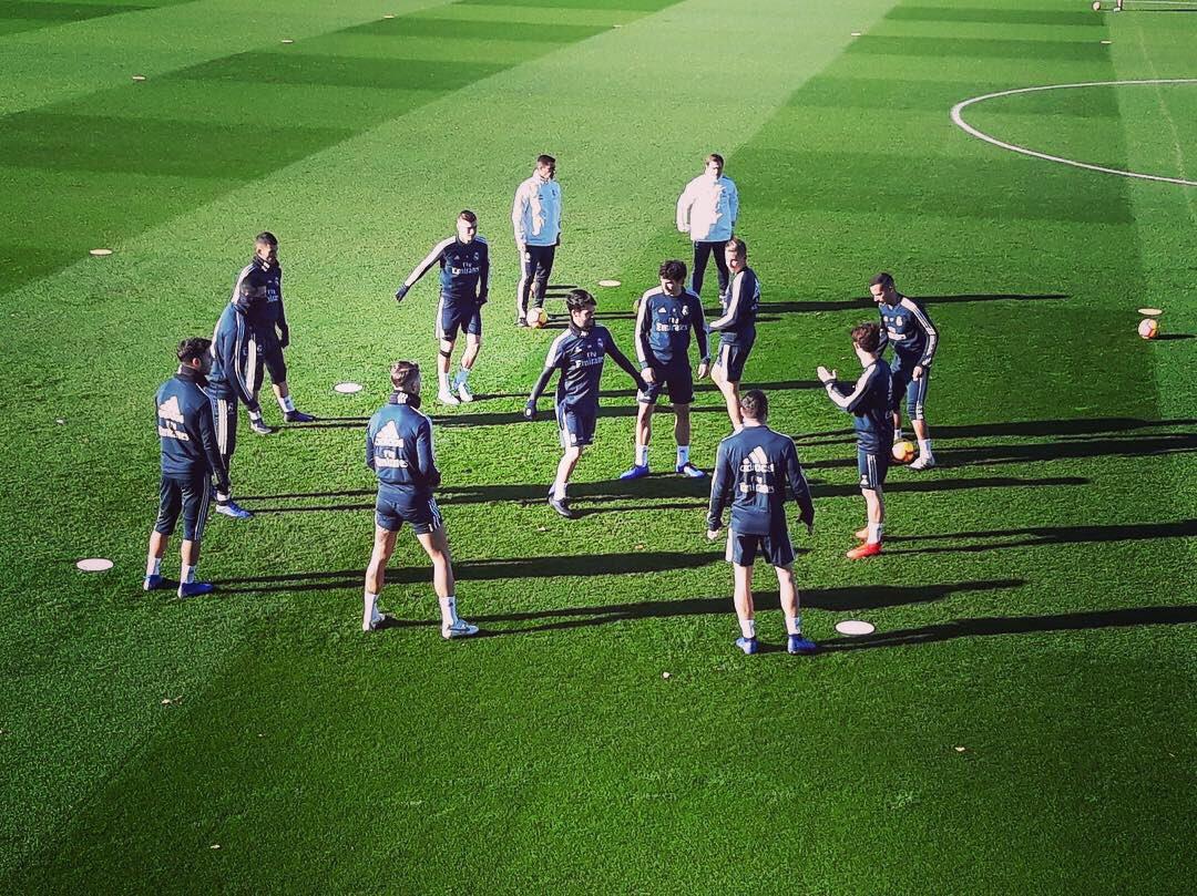 Último entrenamiento el viernes para el partido de #LaLiga ante Rayo Vallecano. #RealMadrid #Madrid #RMCity #RMLiga #LaLiga