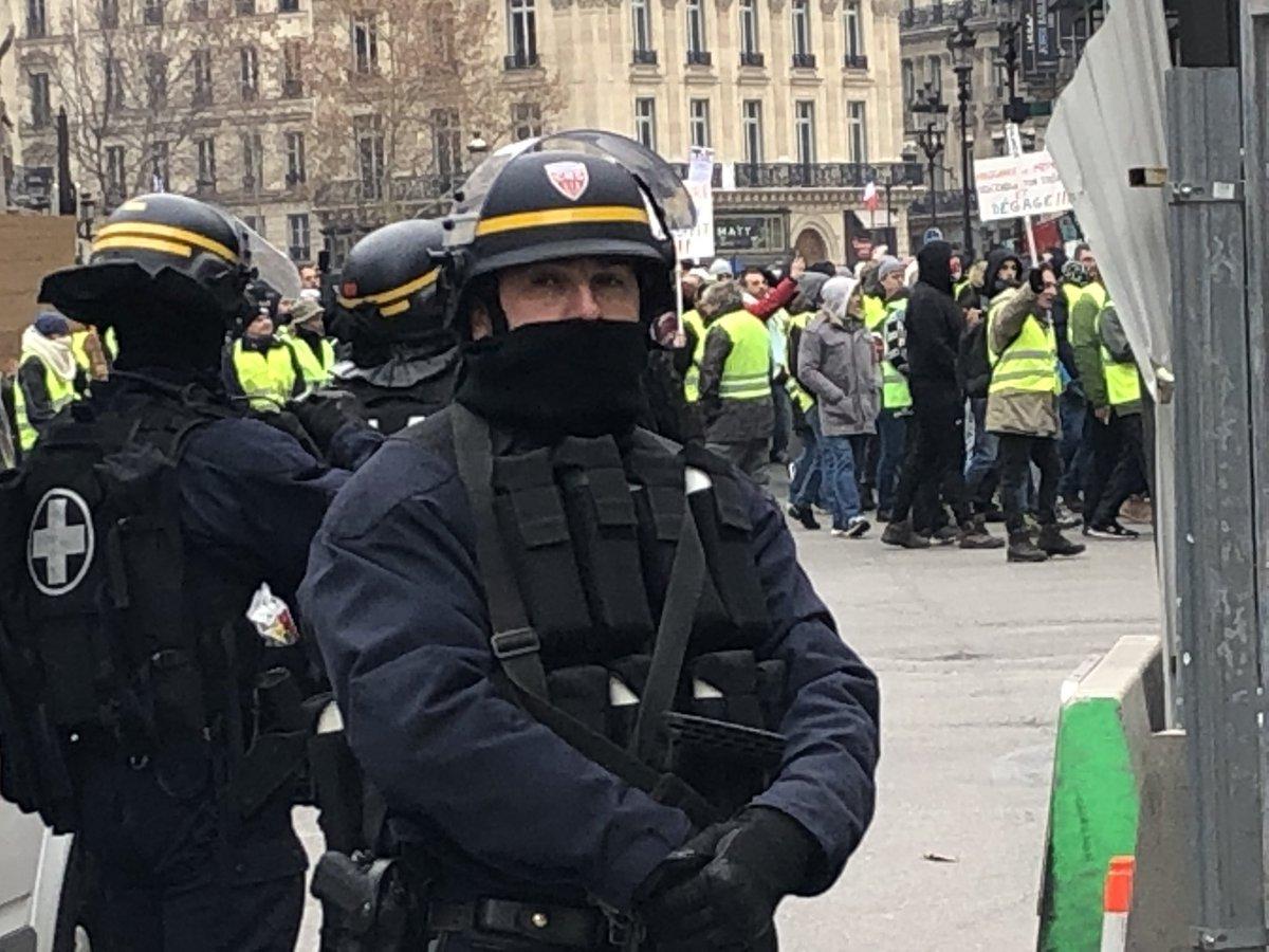 """Париж. Акт №5 """"Желтых жилетов"""""""