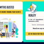 Image for the Tweet beginning: CONTENT MYTHS BUSTED  #MYTH 5: