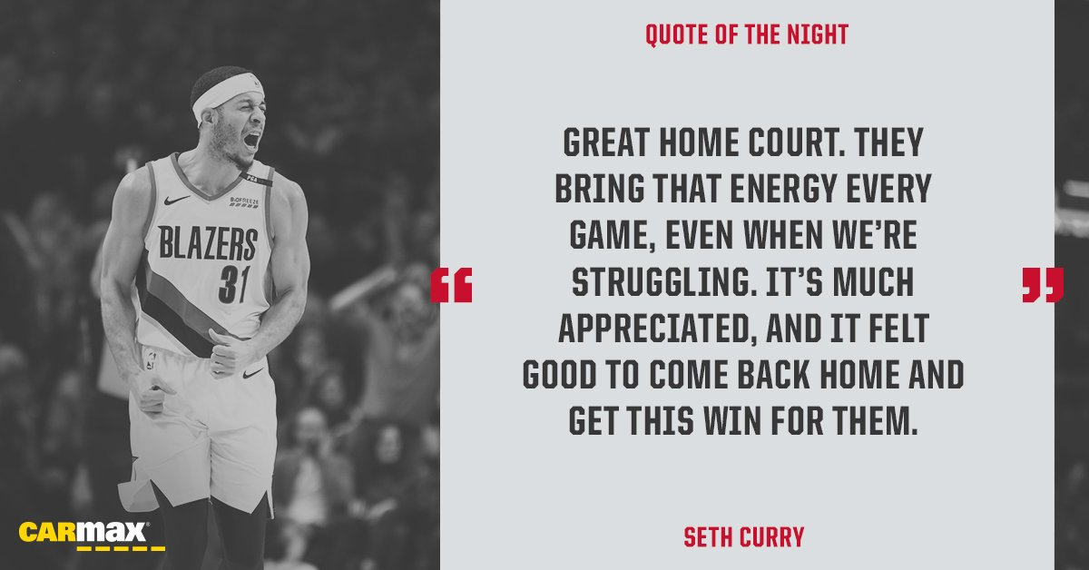 You're the best, #RipCity