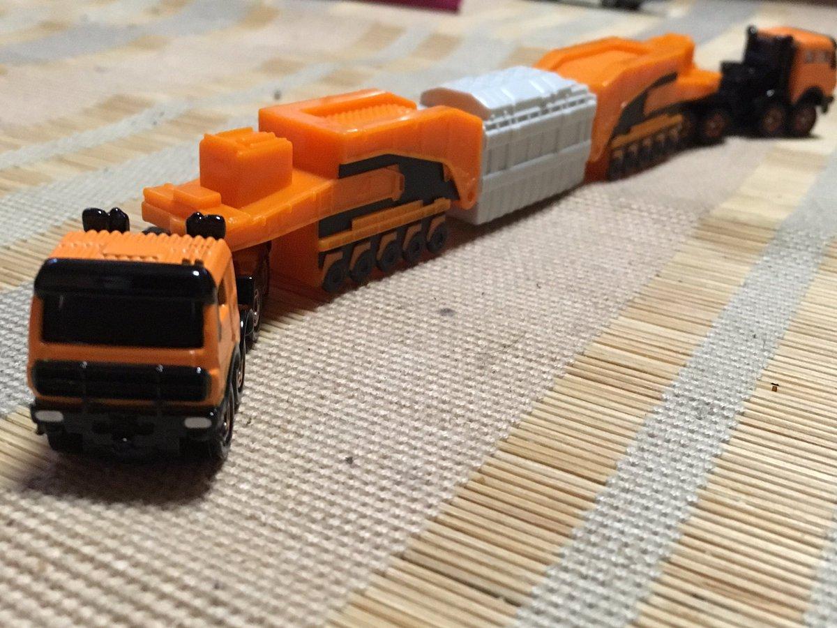 トミカ No.127 メルセデスベンツ 4850 240型 シュナーベル式トレーラーに関する画像7