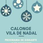 "Image for the Tweet beginning: 🎅❄️ ""Calonge Vila de Nadal"""