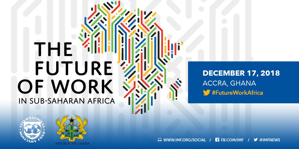 Monday: Follow our #FutureWorkAfrica conference live from #Ghana. 9:30 am Accra/4:30 am ET. https://t.co/LD2LtzWpl3