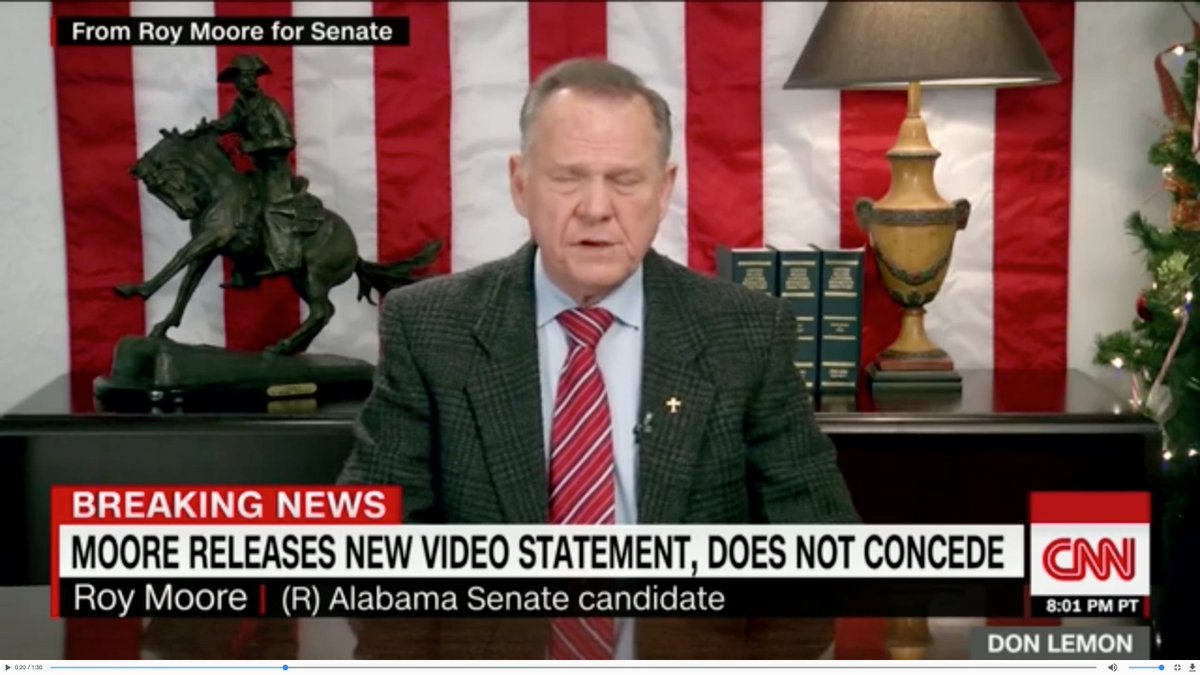 #1yrago Roy Moore continues to defy reality https://t.co/MLWpelIyfC