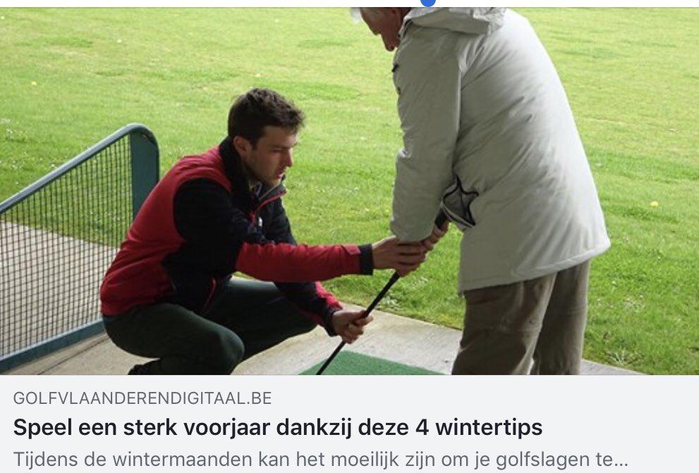 De Rubriek Techniek met 4 nuttige wintertips in onze Golf Vlaanderen Digitaal. https://t.co/WBTYZYm4R0 https://t.co/t7Cdvojr0n