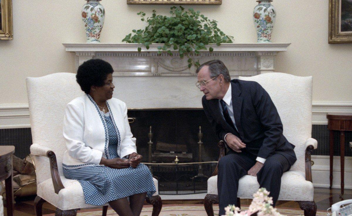 Debating U.S. President George H.W. Bush's Africa Legacy https://t.co/7DD1L5VO05 #Africa