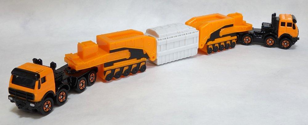 トミカ No.127 メルセデスベンツ 4850 240型 シュナーベル式トレーラーに関する画像6