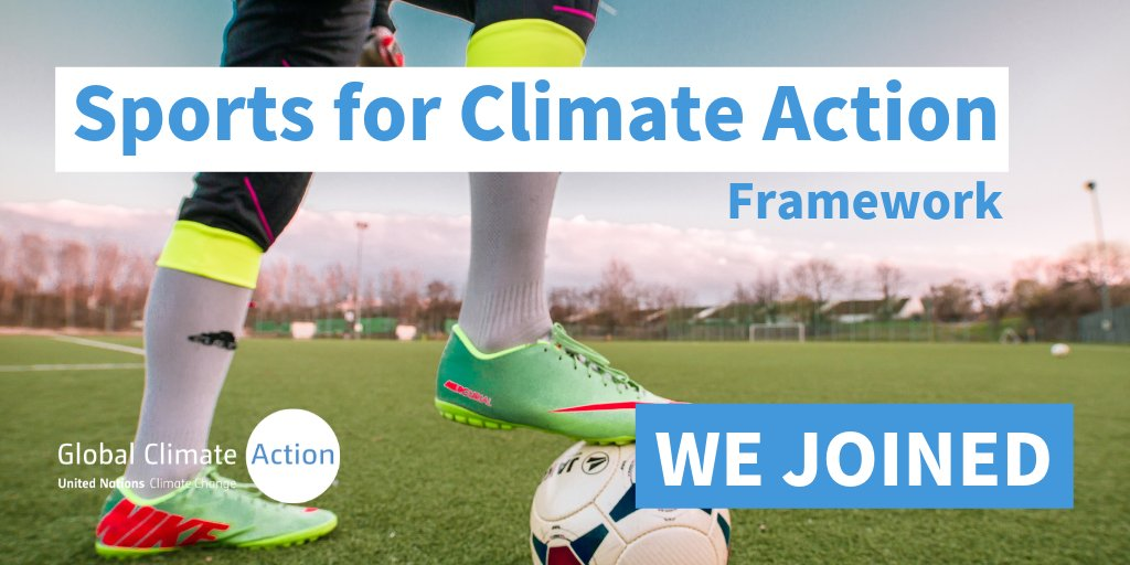 Thank you @Paris2024 for committing to @climateaction through the Sports initiative - Lets win the race against #climatechange! bit.ly/UNSports #COP24 #Sports