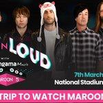 #Maroon5xHungama Twitter Photo
