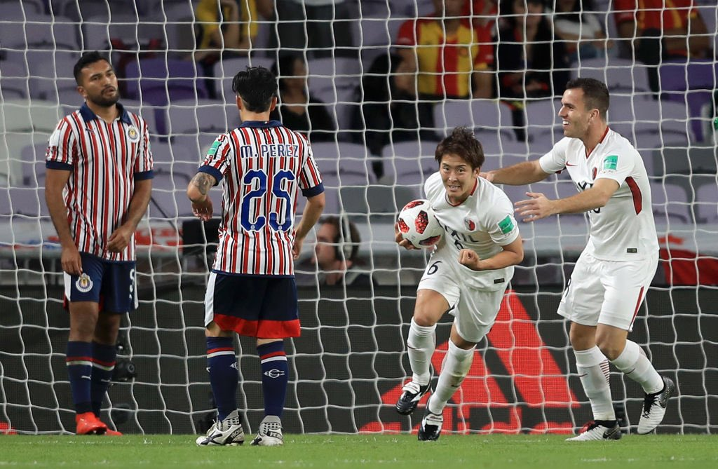 Imagino la tristeza de los hinchas de las @Chivas #México al perder 2-3 con el #Kashima @atlrs_english #Japón q no para de festejar...né amigo @canalzico10 ? Y lo espera un gran partido con el @realmadrid !! #MundialDeClubes y lo q viene... lo q viene... #River @CARPoficial !