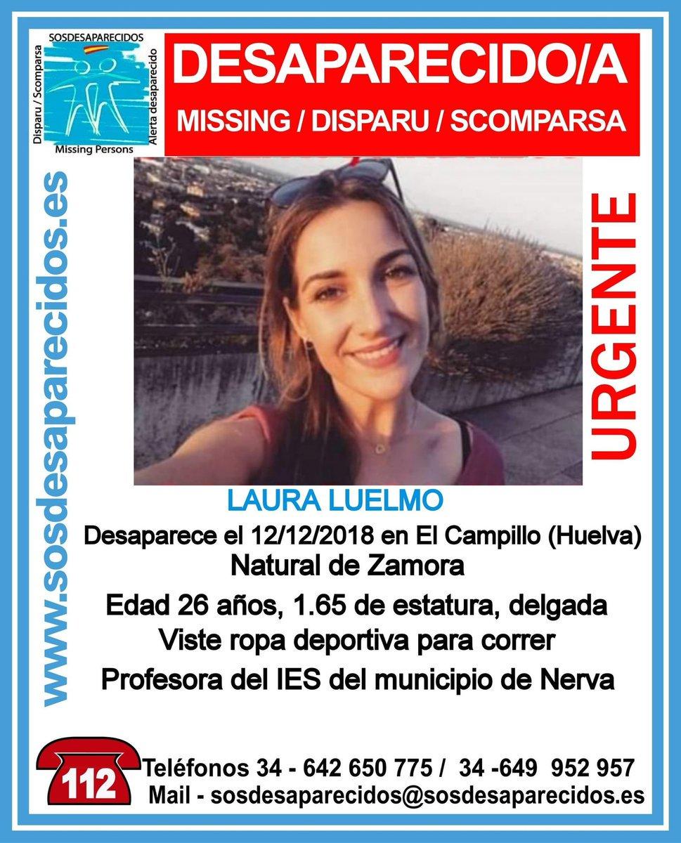 'Conmoción' en El Campillo (Huelva) por la desaparición de una joven zamorana a la que se busca. Su nombre es Laura, tiene 26 años y no se sabe nada de ella desde el miércoles https://t.co/YO8jcz2ORh