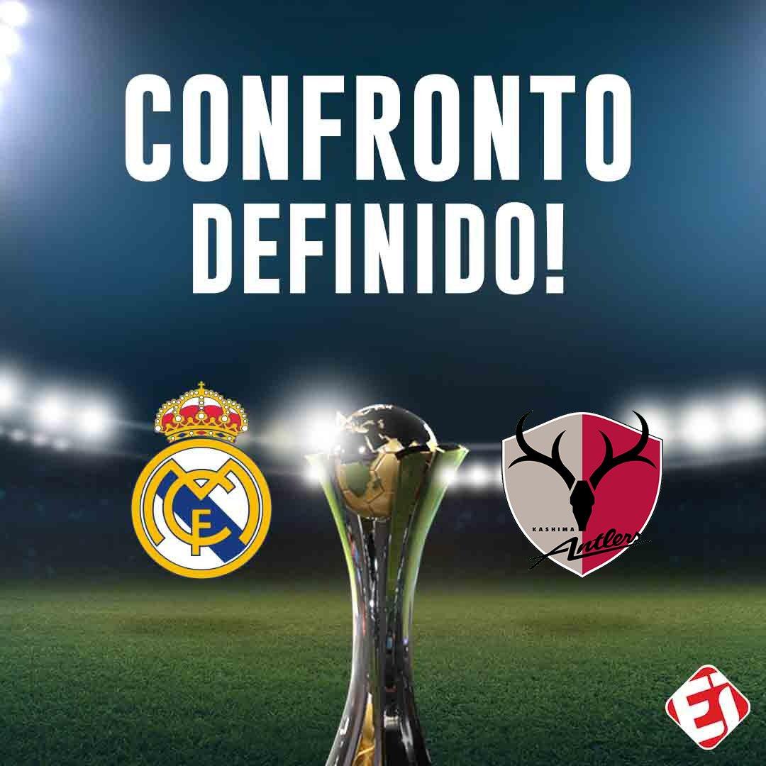 Com a vitória do Kashima Antlers por 3x2 sobre o Chivas, esse será um dos confrontos das semifinais do Mundial de Clubes da FIFA! E aí, quem vence, Real Madrid ou Kashima?