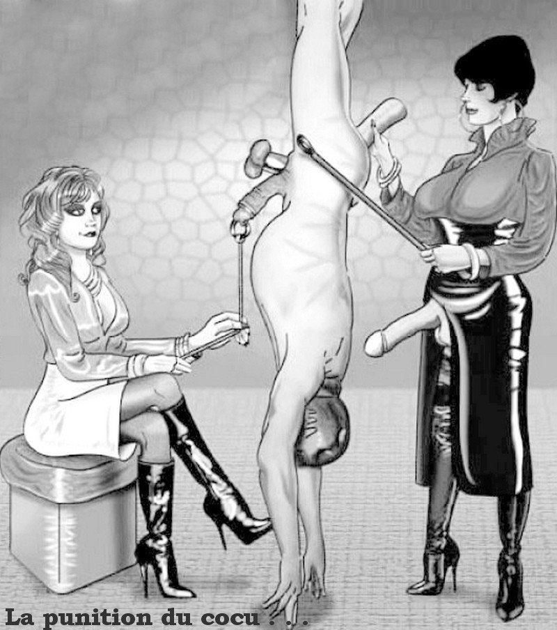 Slave experiences a painful enema