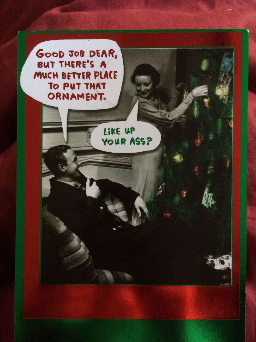 Still my favorite Christmas card of all time. No personal experience, of course. #tistheseason #HappyHolidays