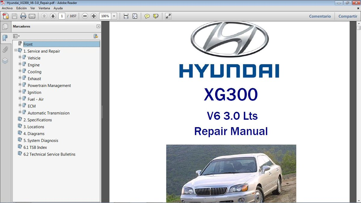 2001 Hyundai Xg 300 Electrical Troubleshooting Manual Xg300 Wiring Diagrams Book Service Repair Manuals Vehicle Parts Accessories