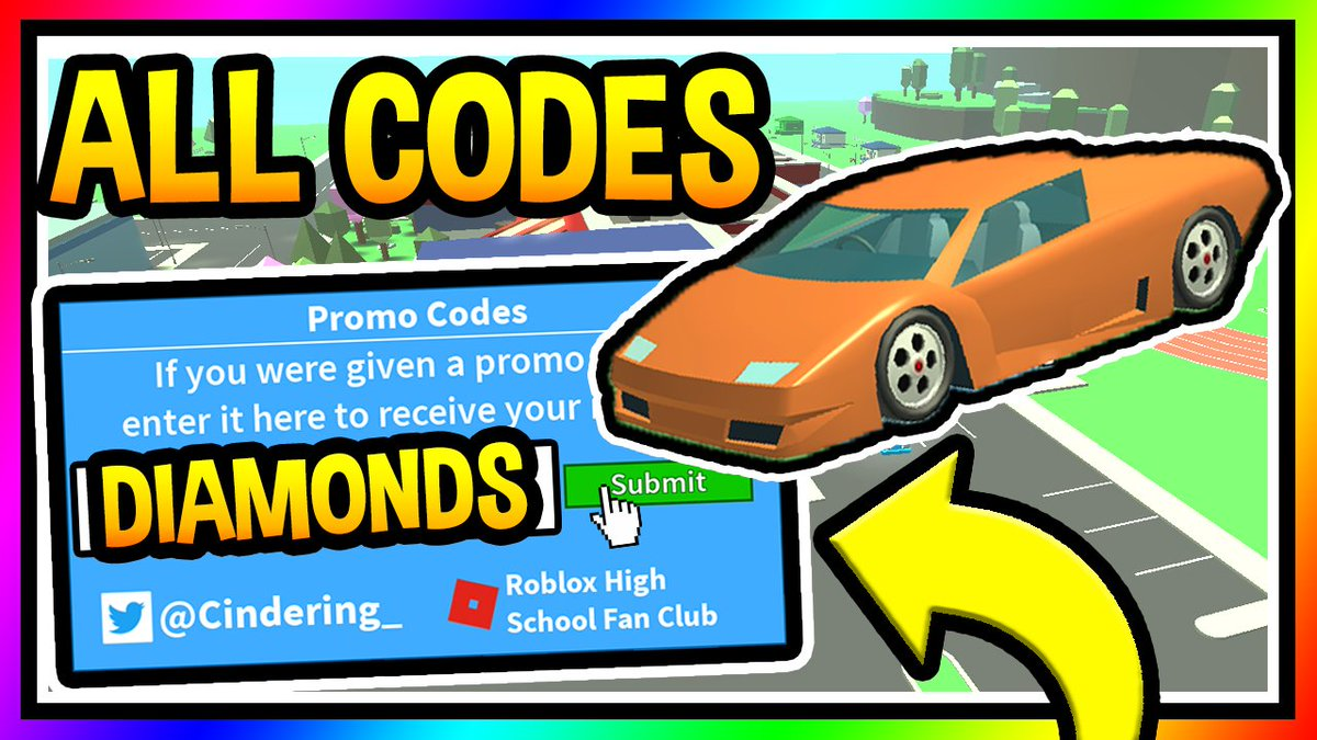 Razorfishgaming On Twitter All Codes In Roblox High School 2 Click