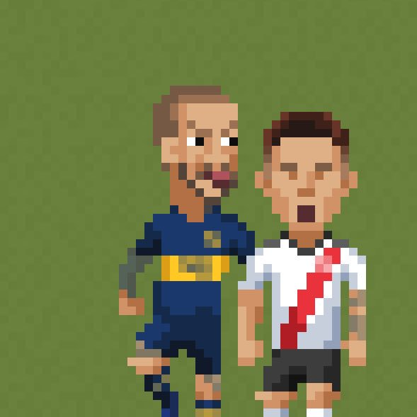 RT @8bitfootball: Several peopled requested, so here it is! #Benedetto https://t.co/L6X9vNymZ4