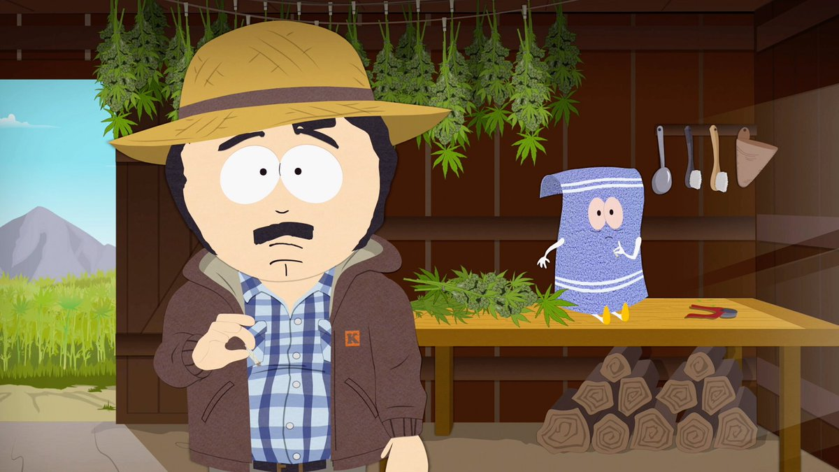Tegridy Farms On Twitter With Business Booming At Tegridy Farms Randy And Towelie Discuss Ways To Innovate Their Business Watch The Season 22 Finale Bike Parade For Free Https T Co X9gffn1kpz Southpark22 Https T Co Vuvwkr7h1u