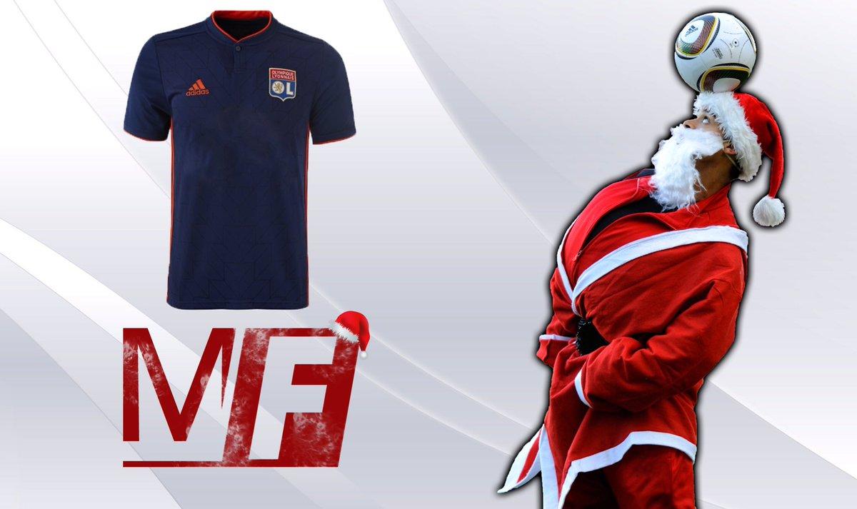 🎁🎅🏼 #RT et #Follow @madeinfoot et @adidasFR pour tenter de remporter le maillot de l' #OL extérieur (taille M)🎅🏼🎁#NoelMadeInFoot #HereToCreate #Lyon