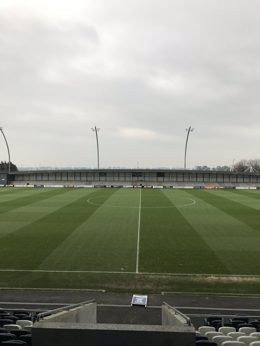 RT @DanielSBunce: All set for today's FA Trophy game @AFCFYLDE V @StratfordTownFC at a windy 💨 @MillFarmSV #coasters https://t.co/V8xH0dNqYh