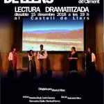 Image for the Tweet beginning: 🎭 Avui dissabte 15/12, a