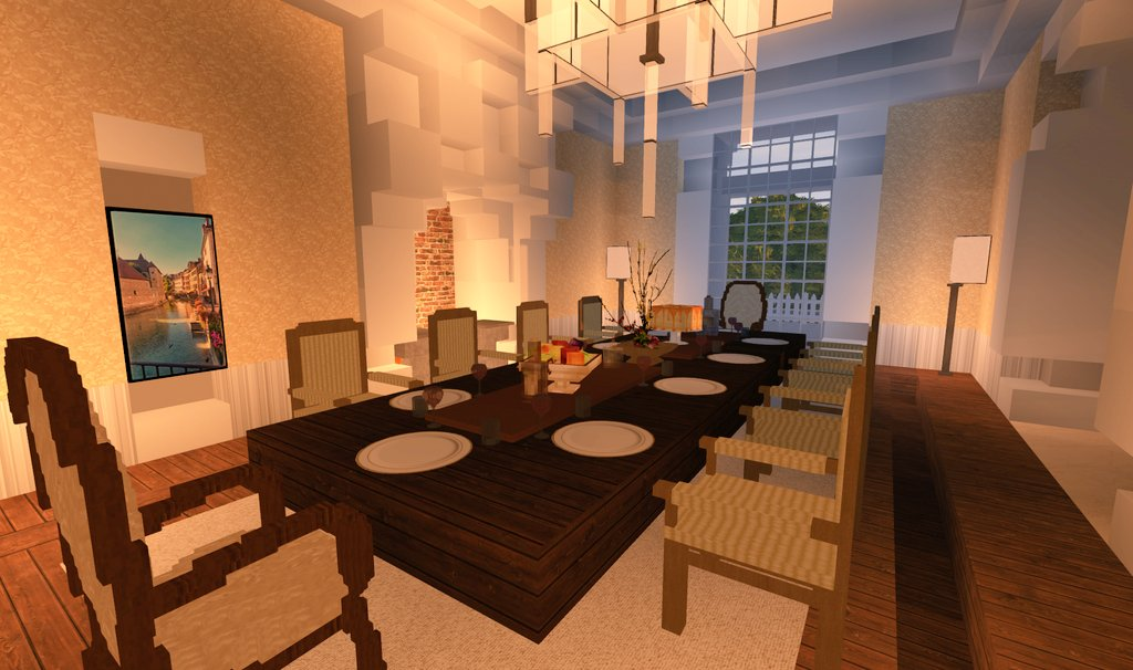 Amberstone On Twitter Inside Of The Carringtons Mansion From The Dinasty Netflix Serie Built By Brandon And Drakes On Amberstone Fr Minecraft Dynasty Mansion Architecture Design Https T Co Kqisvn5tif