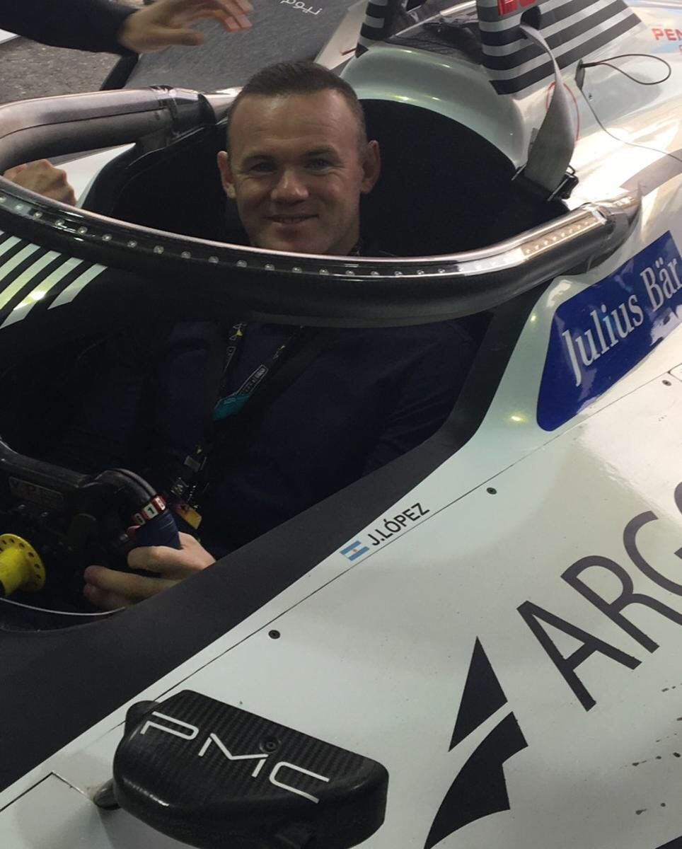 Wayne Rooney's photo on #addiriyaheprix