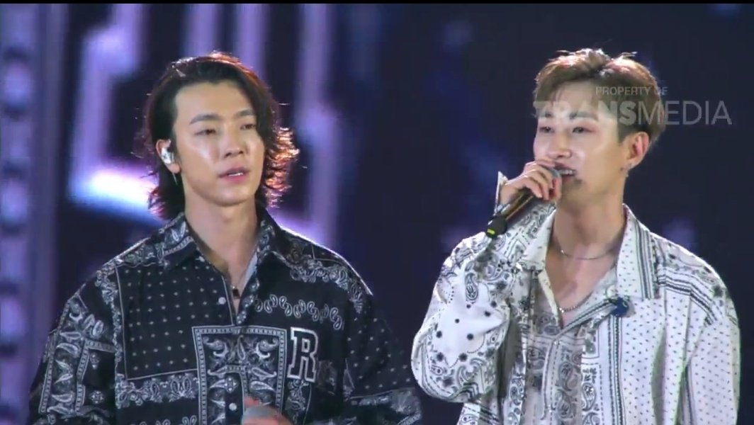 SuJu D&E Donghae dan Eunhyuk Super Junior di HUT Transmedia