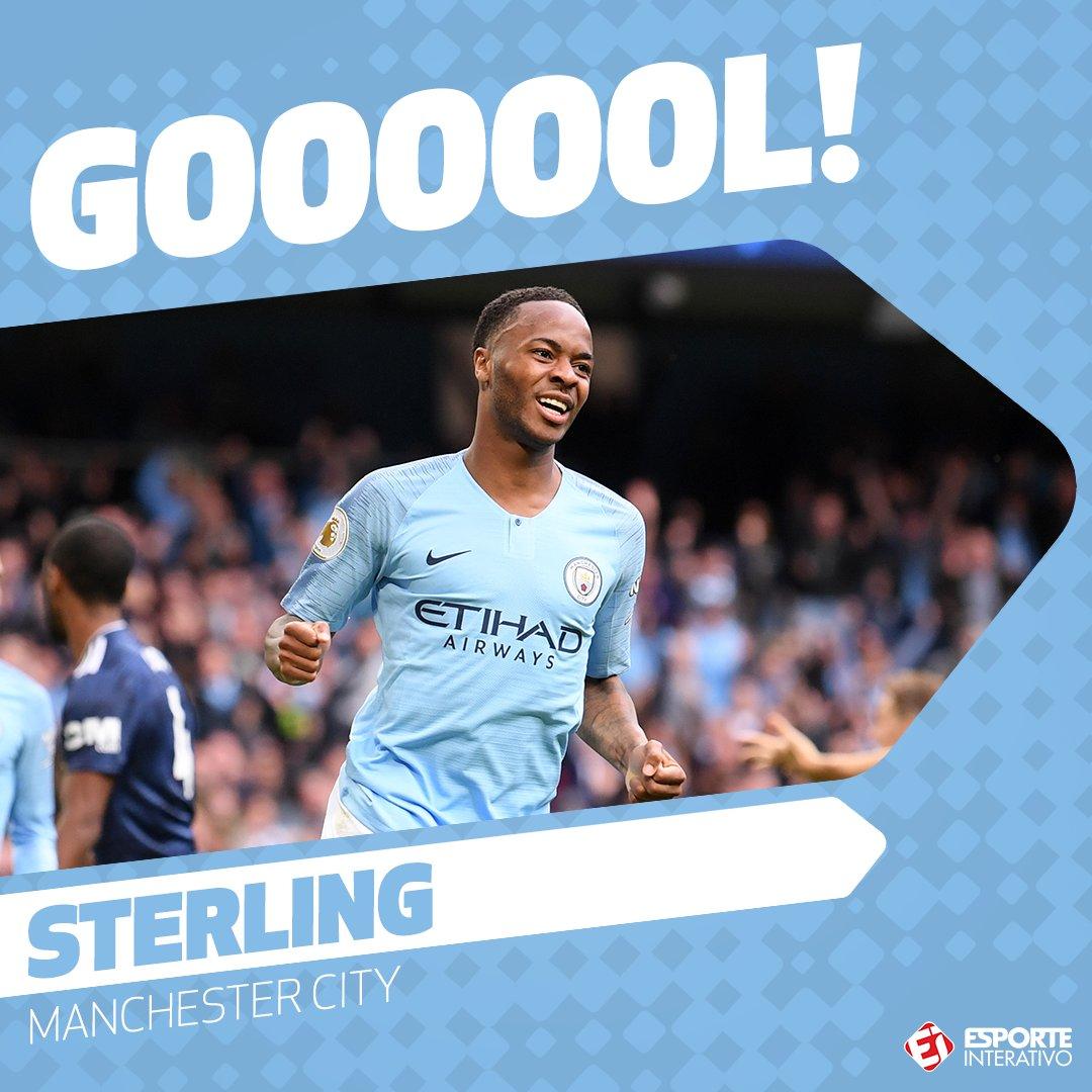 GOOOOOOOOOOOOOOOOOOOOOOOOOOOOOOOOOOOOOOOOOOOLLLLLLLLLLLLLLLL!!! @sterling7 marca o terceiro gol do @ManCity contra o @Everton após bom cruzamento de Fernandinho!!! Agora, 3x1!