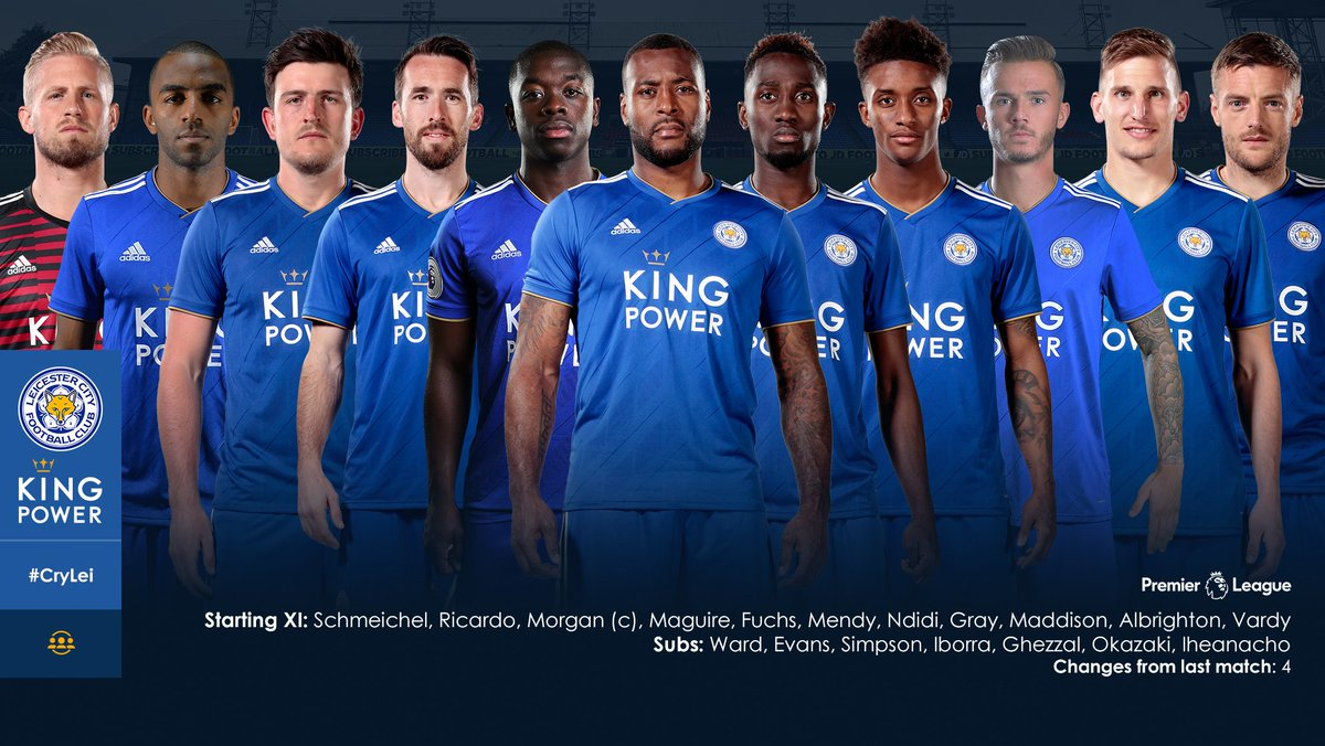Leicester City's photo on Starting XI