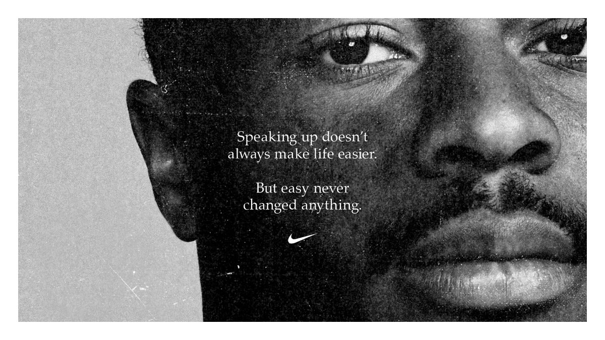 Nike Ad from Twitter