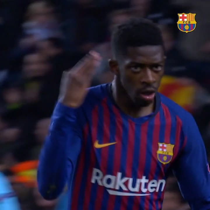 🏃♂💨Use one emoji to describe this goal ⬇  @Dembouz  👏👌
