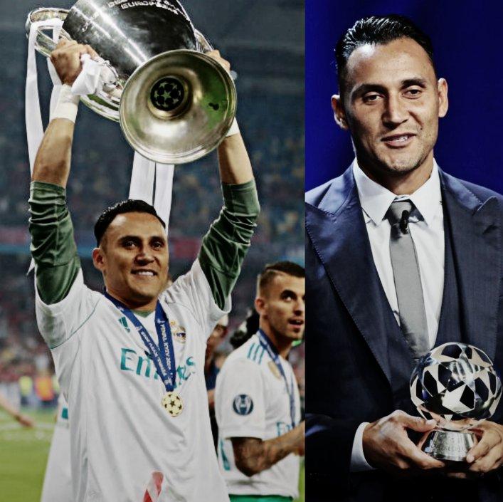 El único portero que ha conquistado tres títulos consecutivos de UEFA Champions League. Un costarricense que ha sido elegido como el mejor futbolista de la CONCACAF, el mejor guardameta de la Liga y el mejor arquero de la máxima competición europea. ¡Felices 32, @NavasKeylor!