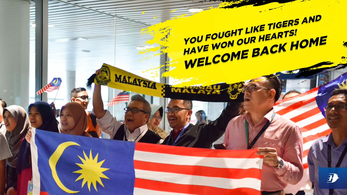 Well fought, Harimau Malaya! What matters most is you did your best and left it all on the pitch. We're very proud of you. For now, marilah pulang ke tanah air.