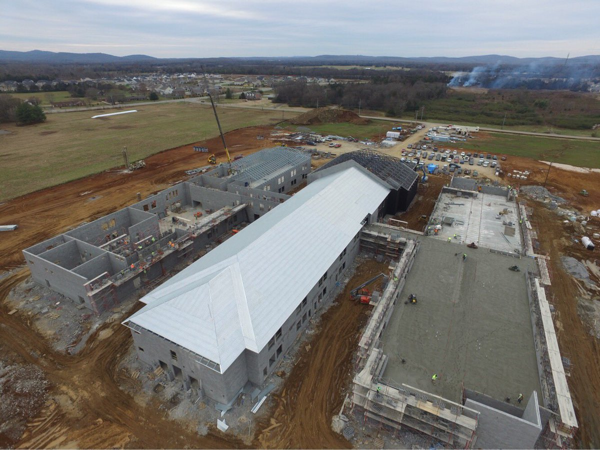 It has been a busy week at the new Salem Elementary. We can't wait to usher in our future students and teachers. #BuildingSalem @MCScommunicates<br>http://pic.twitter.com/F8ot46DlQq