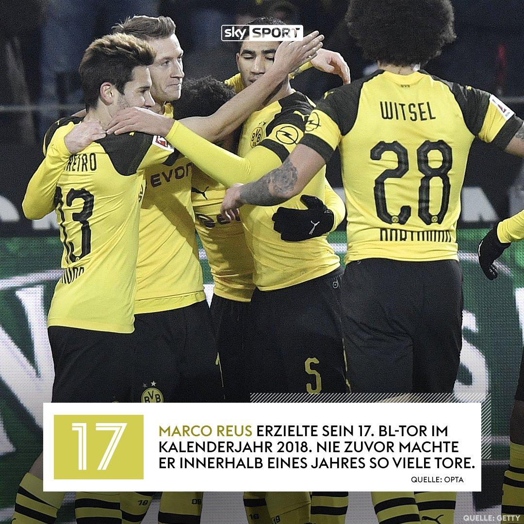 Der BVB-Kapitän stellt einen neuen persönlichen Rekord auf. #skybuli #BVBSVW