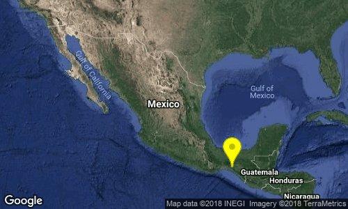test Twitter Media - SISMO Magnitud 4.3 Loc  27 km al SUR de CINTALAPA, CHIS 15/12/18 13:26:04 Lat 16.45 Lon -93.78 Pf 139 km https://t.co/kOlzncOmEF