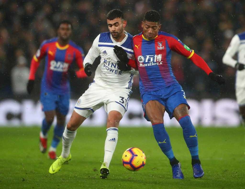 Crystal Palace get crucial 1-0 win over Leicester City https://reut.rs/2S3iy2l