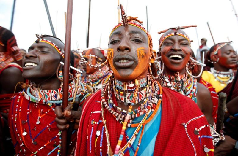 Kenyan warriors hunt cash not lions in Maasai Olympics https://reut.rs/2CgWlIx