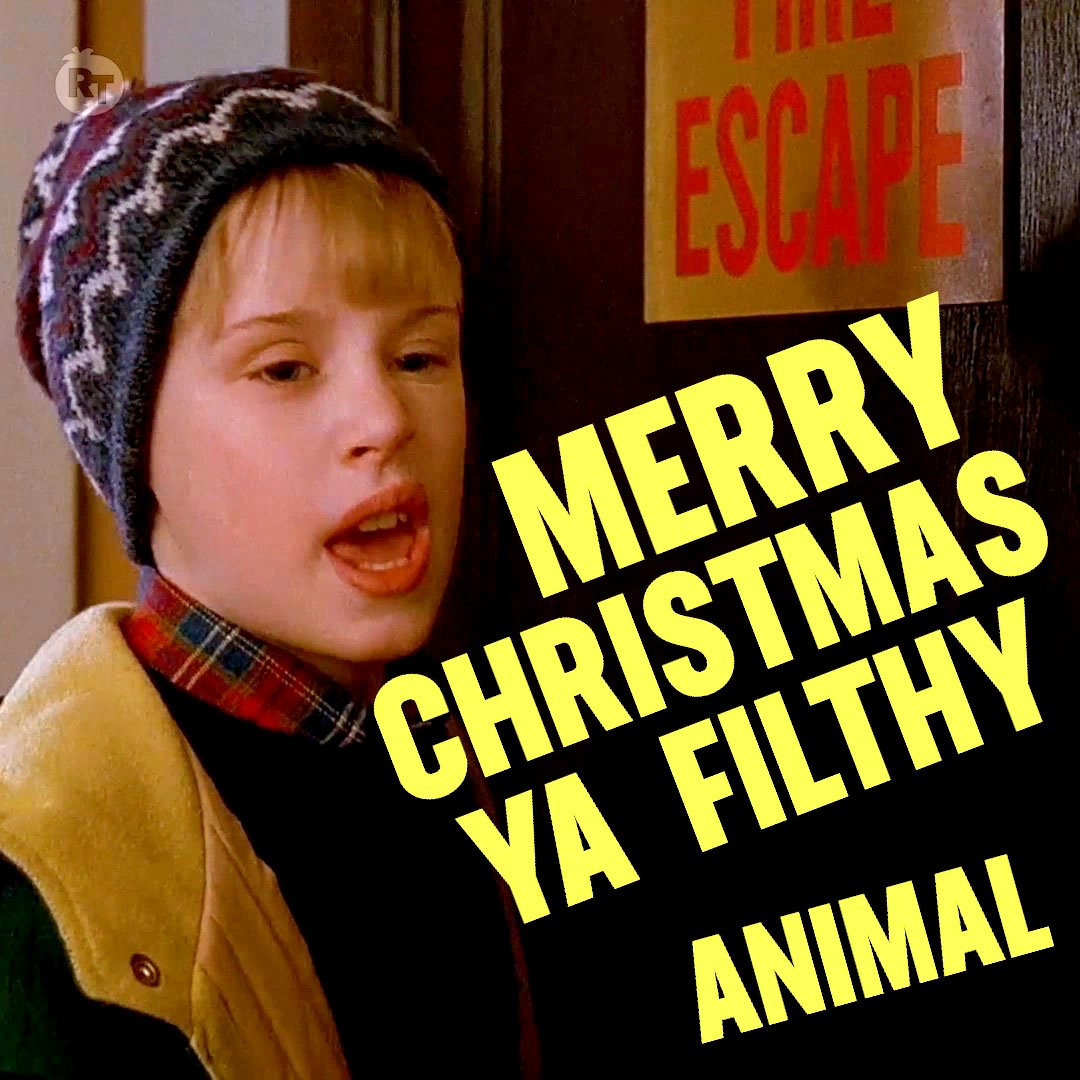 Merry Christmas Ya Filthy Animal And A Happy New Year.Merry Christmas Merry Christmas Ya Filthy Animal Happy
