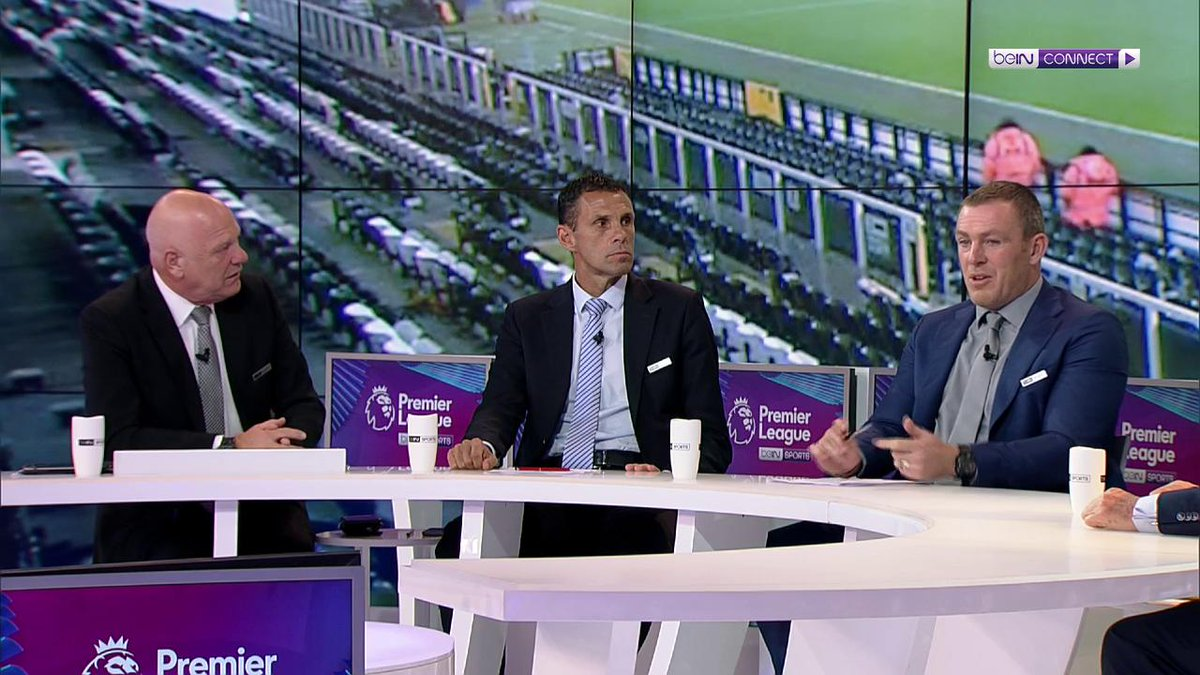 """""""You look at Harry Kane, he wants to be the best player in the world. He's not going to do that at a team that comes third or fourth!""""  Richard Dunne, Andy Gray and former Spurs midfielder Gus Poyet discuss whether Tottenham can match Harry Kane's ambitions.  #beINPL #THFC"""